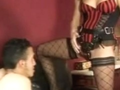 babes shows whos boss by pegging her fellow