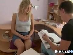 Russian Teen Anal Fucked